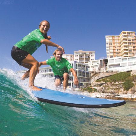 Lets Go Surfing Bondi Beach Surf School - Bondi Surf Experience Surf Lesson